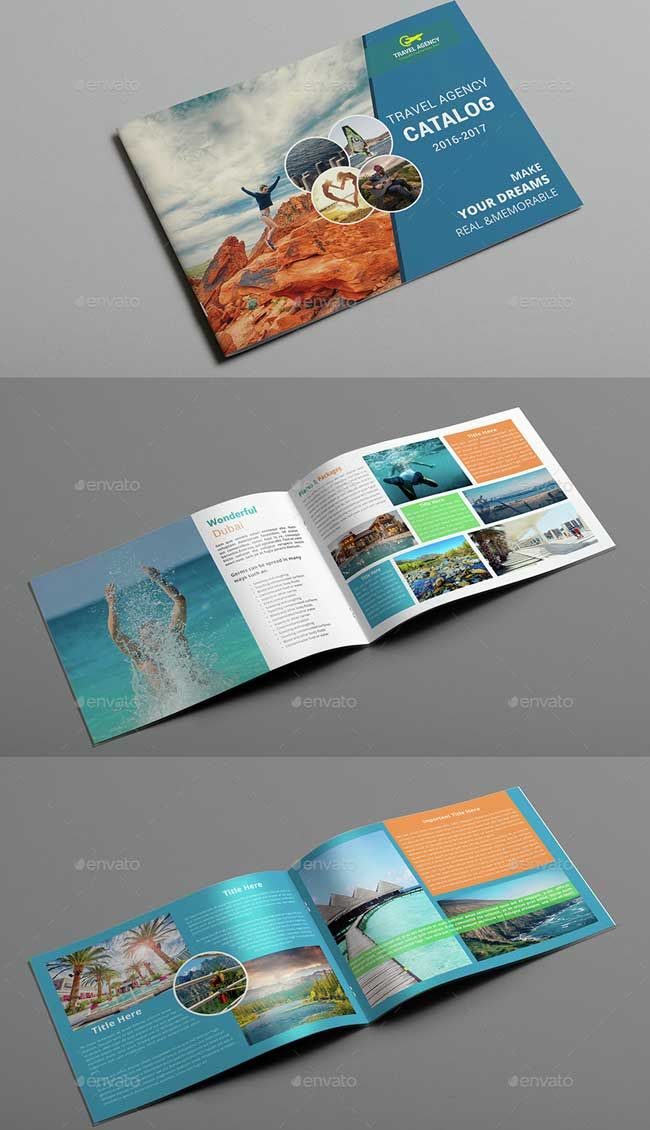 Showcase 40 Best Travel And Tourist Brochure Design Templates 2016