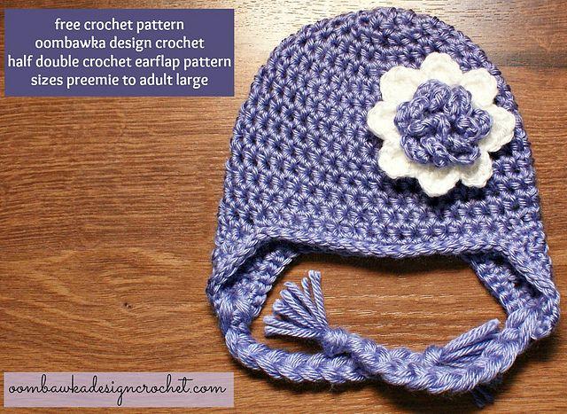 Crochet Patterns Galore - Earflap Hat   Craft ideas   Pinterest