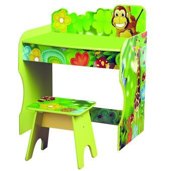 Jungle Desk From Hobbycraft Kids Room Wooden Table Chairs