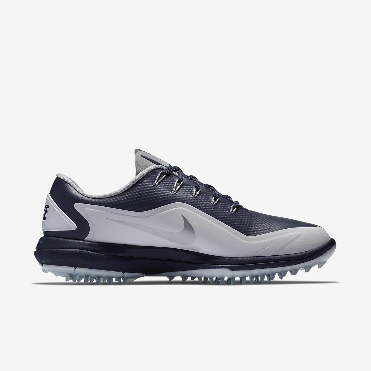 "35a4e1356a99f1 Nike Lunar Control Vapor 2 Men s Golf Shoe - 10.5 Silver  ""mensgolftips"""