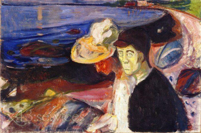 Galerie Edvard Munch Personen Expressionismus Kunstwerke Kunst