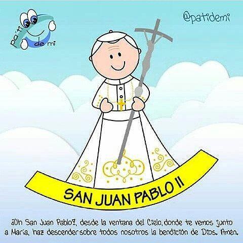 Hoy se celebra el Día de Juan Pablo II #SantoJuanPabloII ...