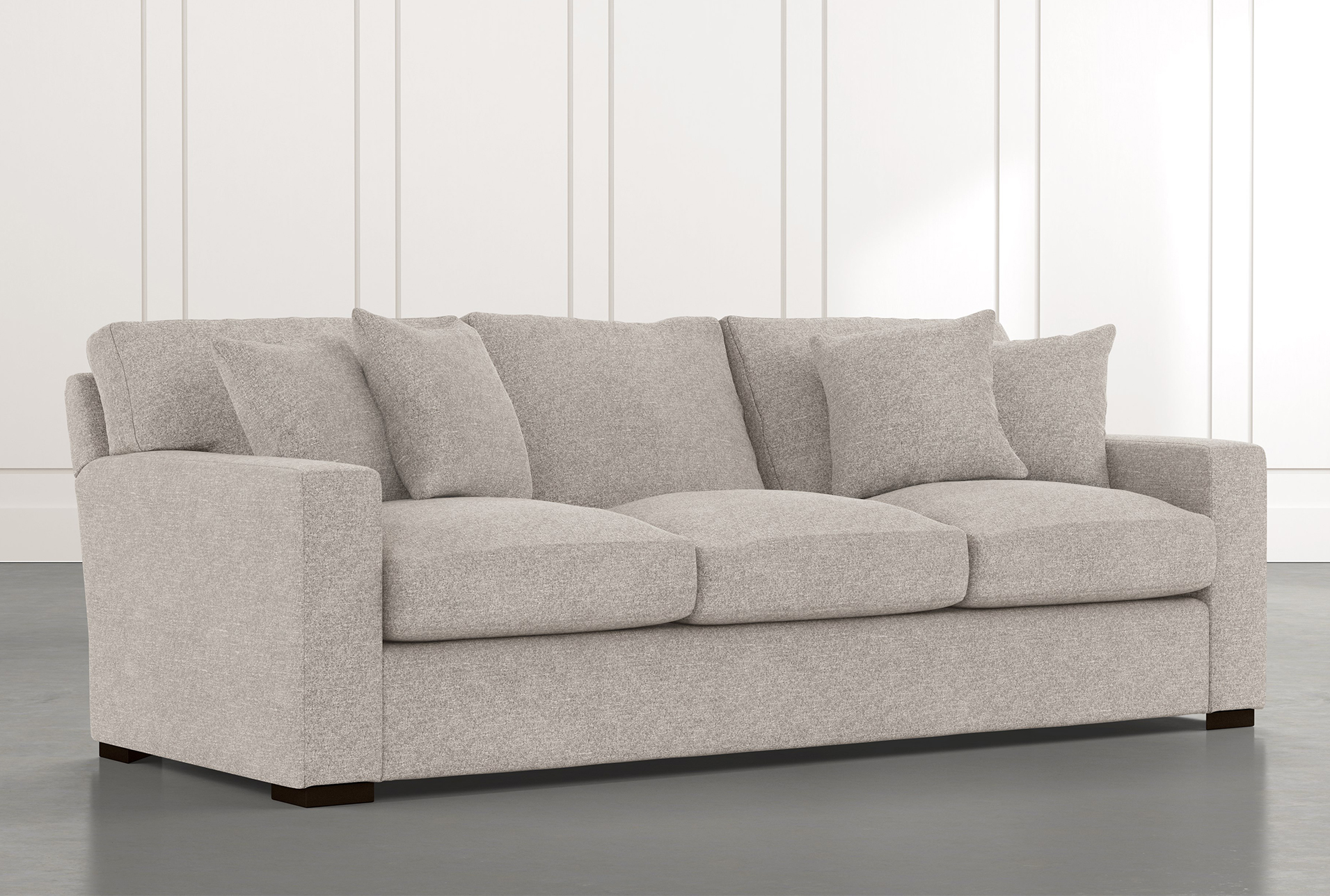 Mercer Foam Ii Light Grey Sofa 695 Gray Sofa Sofa Sectional
