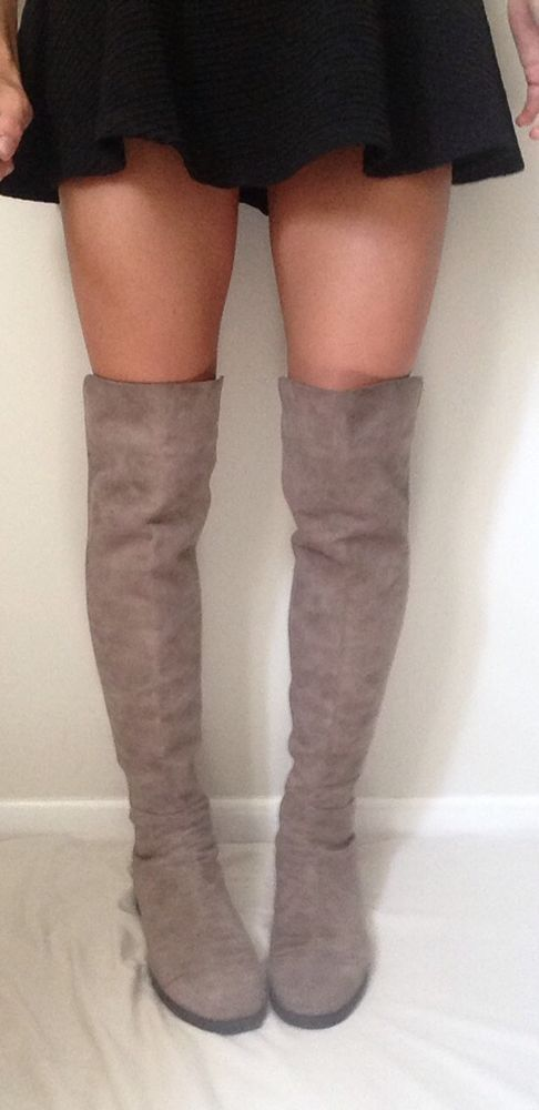 b3e0d46a17db Stuart Weitzman  5050 Over The Knee Suede Boots