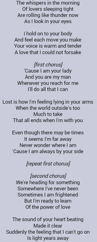 Celine Dion The Power Of Love Celine Dion Lyrics Music Quotes Lyrics Celine Dion Songs