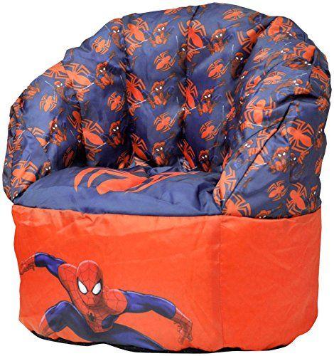Marvel Spiderman Sofa Bean Bag Chair Furniture Details Can Be