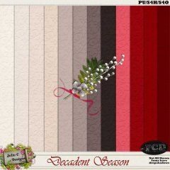 Decadent Season Cardstock