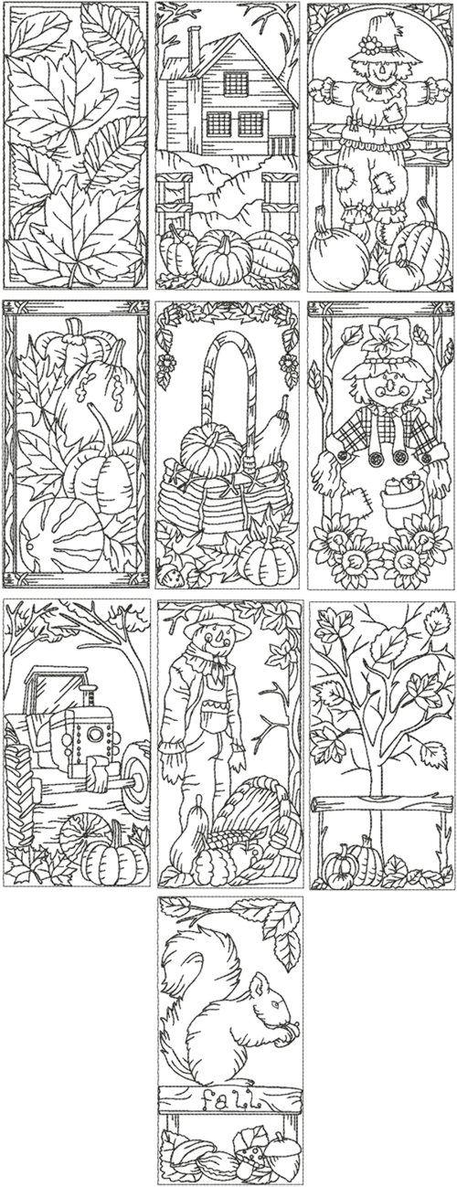 Herbst   malen   Pinterest   Herbst, Ausmalbilder und Ausmalen