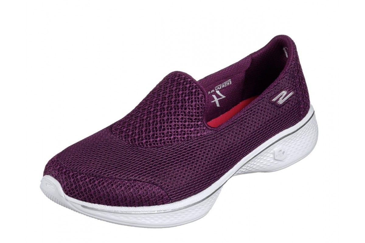 purple skechers