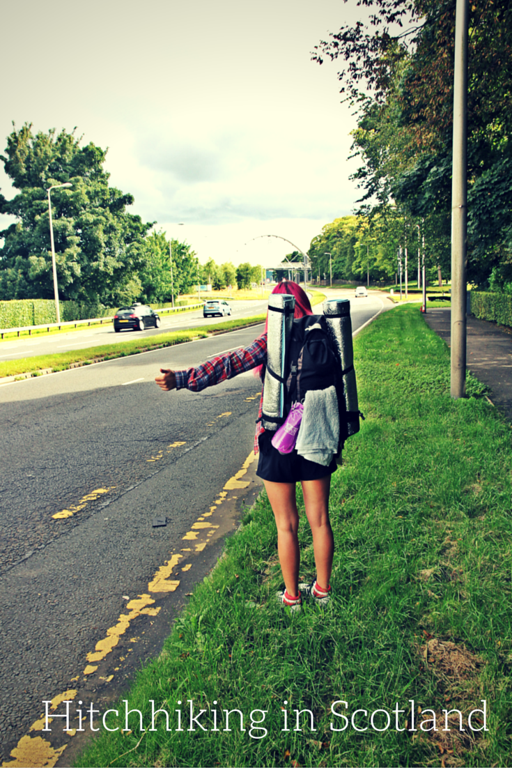Story about hitchhiking in Scotland summer 2015. Read more tips about how to hitchhike.