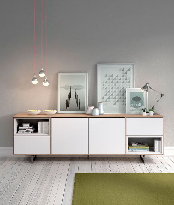 Muebles auxiliares para la sala bufet o aparador transfer for Aparadores para comedor