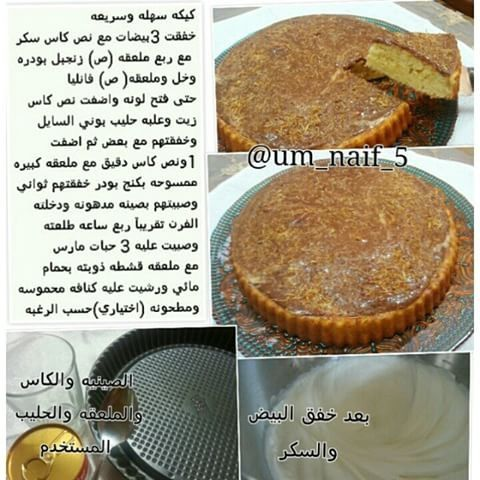 كيكة بحليب بوني Food Breakfast Muffin