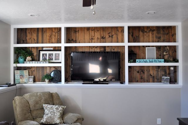 Photo of Love these built ins for family room and bedrooms that have this in my basement.