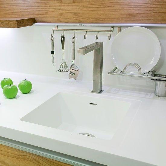 Corian Kitchen Worktop And Sink