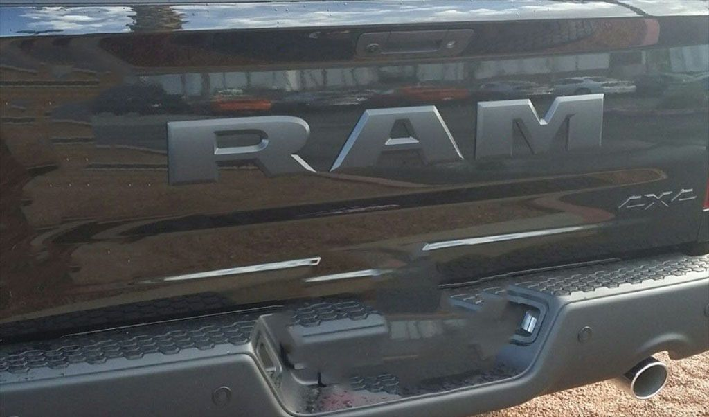 20152017 DODGE RAM 1500 TAILGATE RAM EMBLEM LETTERS SET