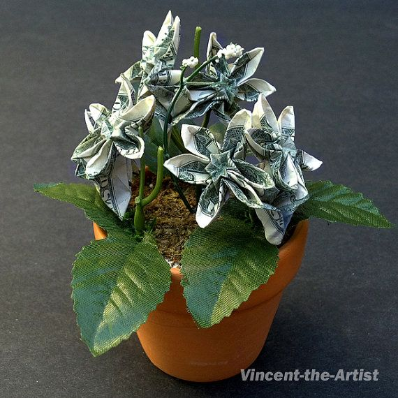 Origami flower tree craft projects i need to try pinterest origami flower tree mightylinksfo