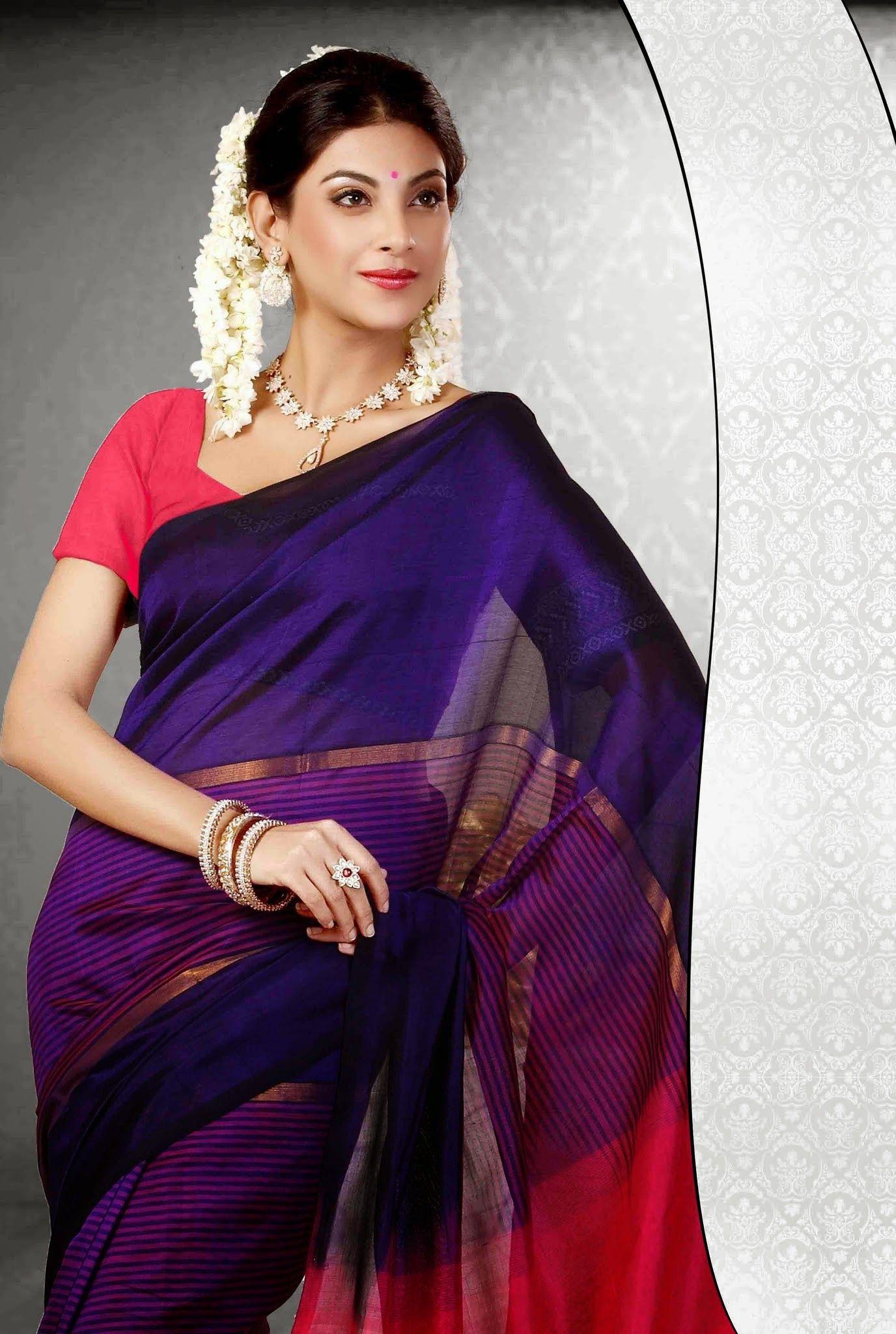 Pure silk saree afficher luimage duorigine  sarees  pinterest  saree