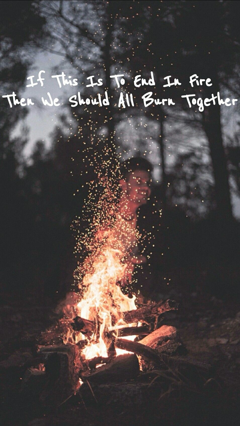 I see fire ed sheeran lyrics lockscreen lockscreen for Fire tumblr