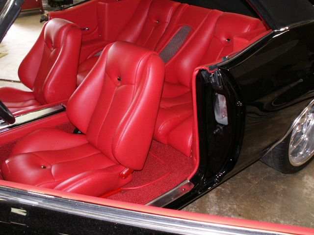 71 chevelle convertible custom car stereo trunk install black white red interior by shannon 20. Black Bedroom Furniture Sets. Home Design Ideas