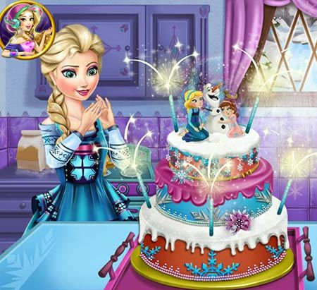 Play Elsas Wedding Cake game It easy for gamers to find new Frozen