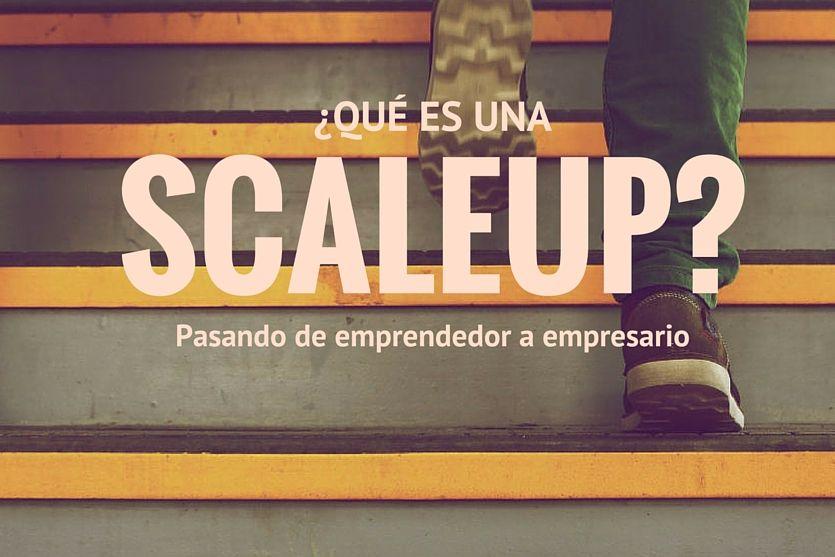 ¿Qué es una Scaleup Pasando de emprendedor a empresario