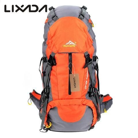 a8a8cd3a1def 50L Waterproof Outdoor Hiking Backpack Trekking Camping Travel Bags Pack  Climbing Backpack Knapsack with Rain Cover