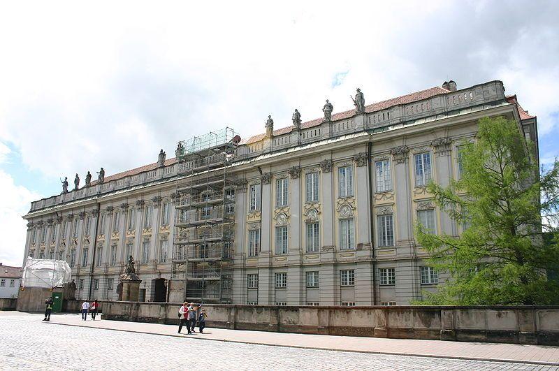 Bad Ansbach hauptfassade residenz ansbach ansbach germany
