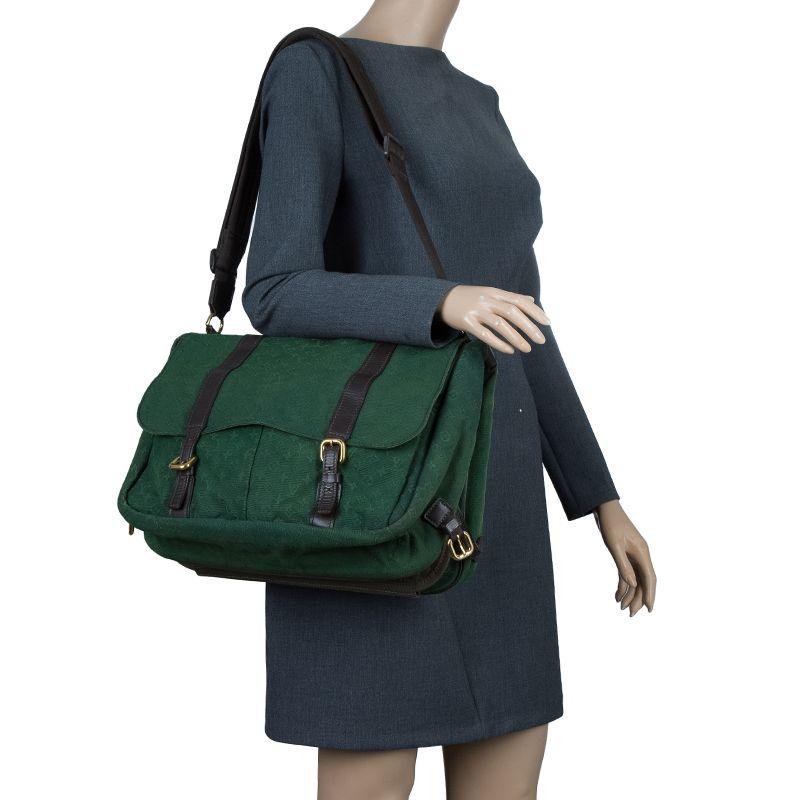 87bcf9cf8e15 Louis Vuitton Khaki Monogram Mini Lin Sac A Langer Diaper Bag
