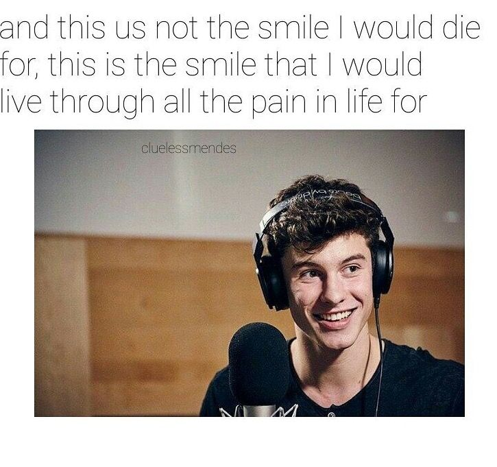 That smile belongs to the Shawn Mendes