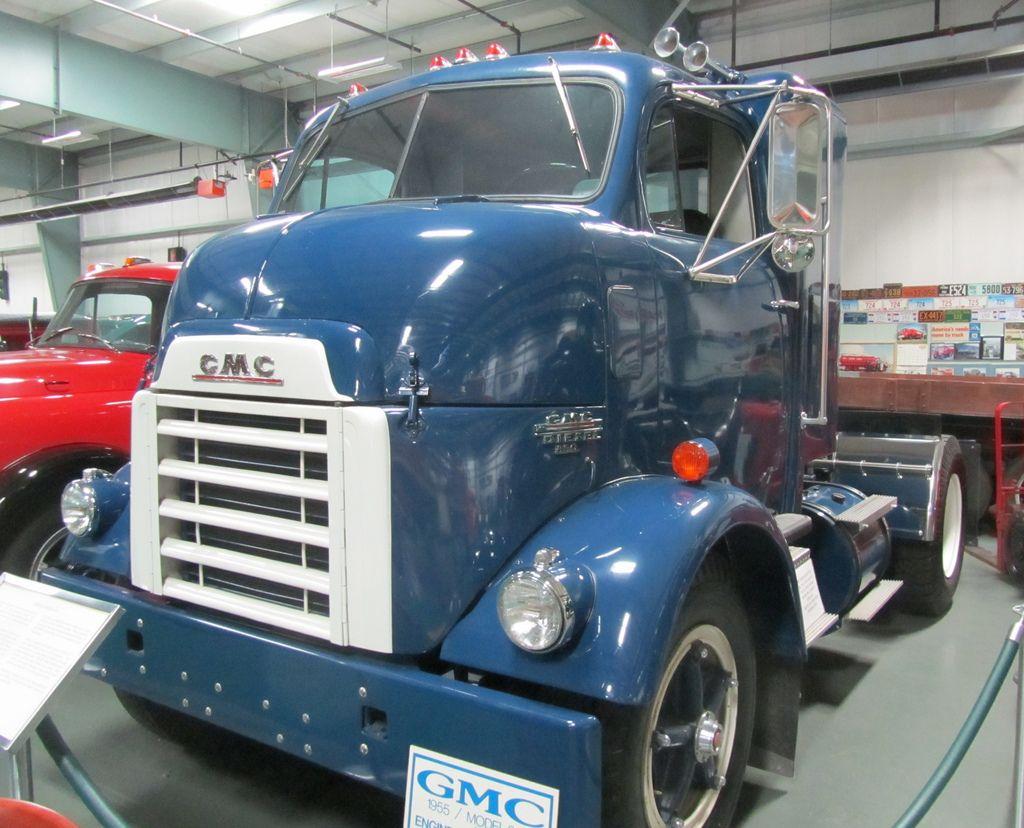 Gmc 860 Cannonball Truck 1955 Gmc Trucks Trucks Vintage Trucks