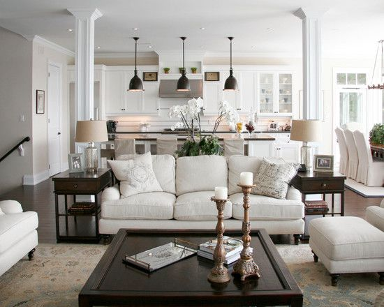 Interior Design Ideas Living Room Traditional Adorable Cozy N Warm Living Room  Kitchen  Opening It Up  Pinterest Review