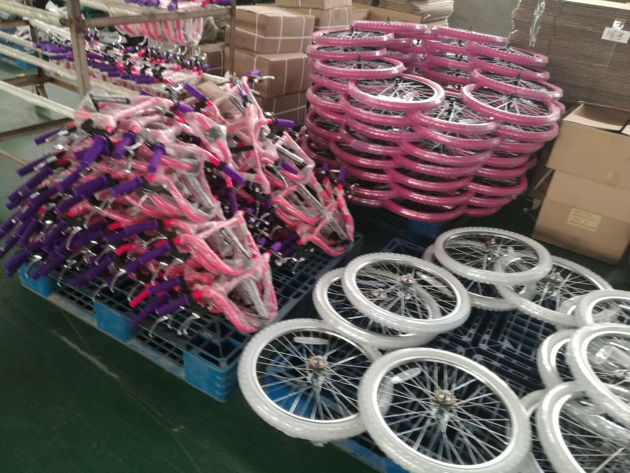 Our Factory For Kids Bicycles We Are Chinese Leading Professional