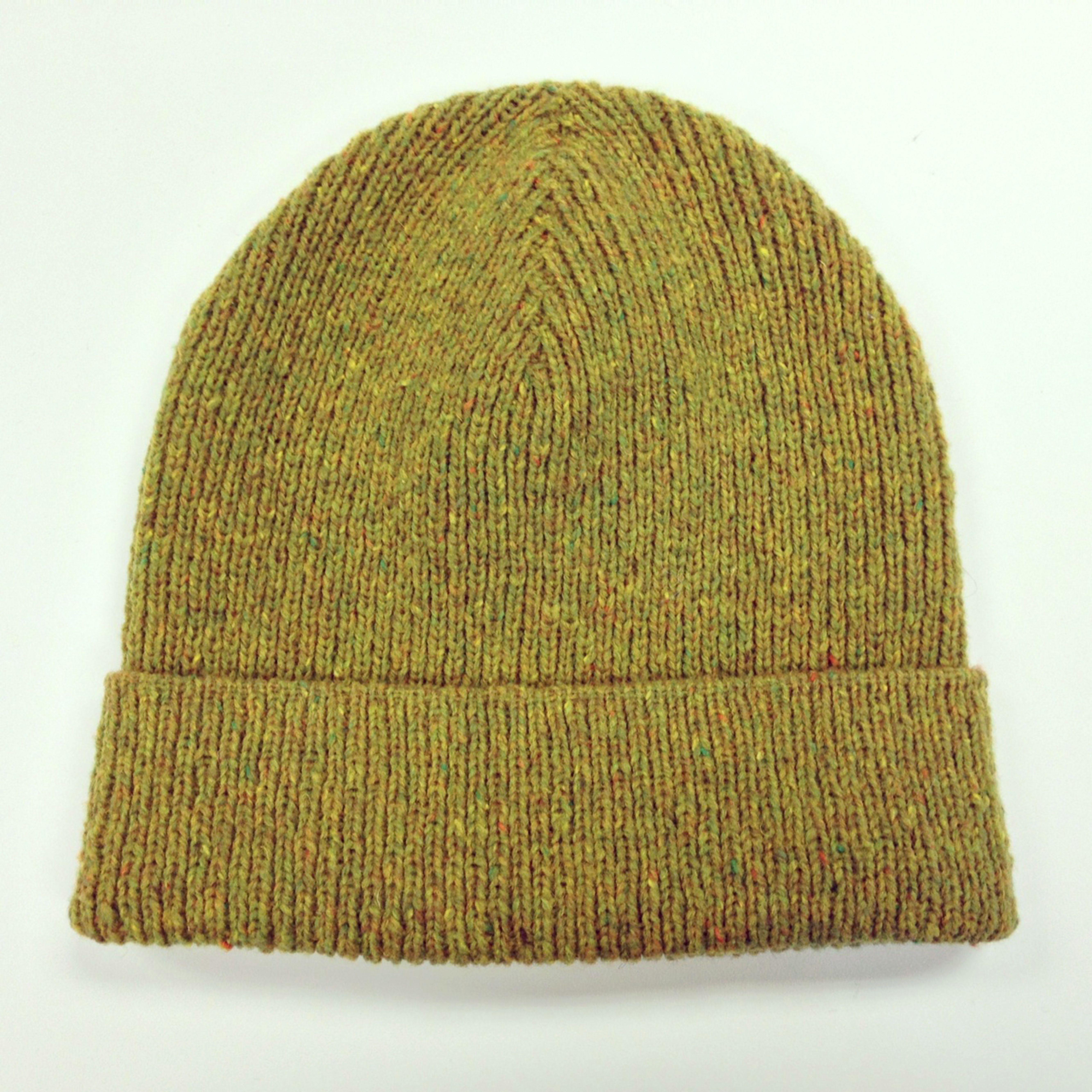 5138ba37e60 Watch Cap hand knit by Lauren Mayhew