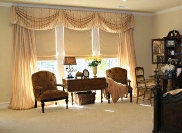 Master Bedroom Window Treatments   Traditional   Window Treatments   Dallas    Sally J. Designs