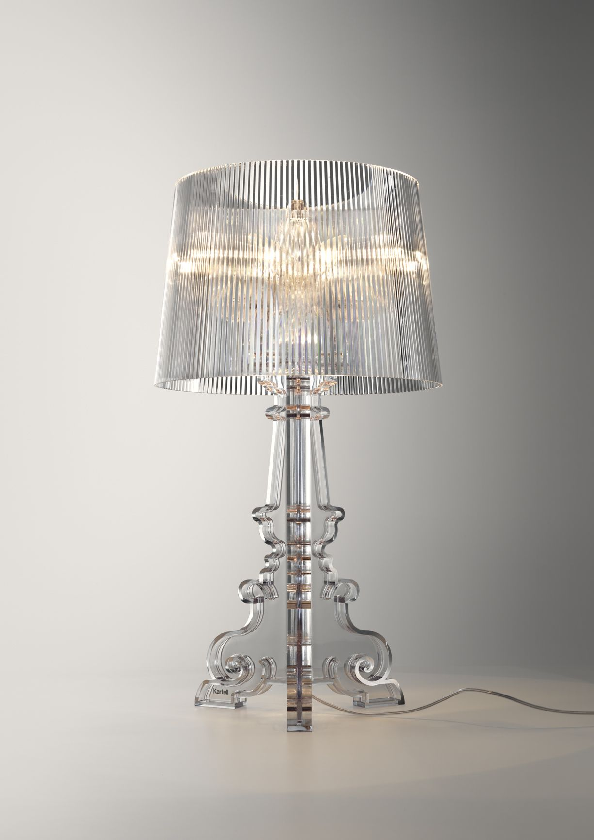 Bourgie Lampe Bourgie Lamp By Ferruccio Laviani For Romantic Spirits Kartell