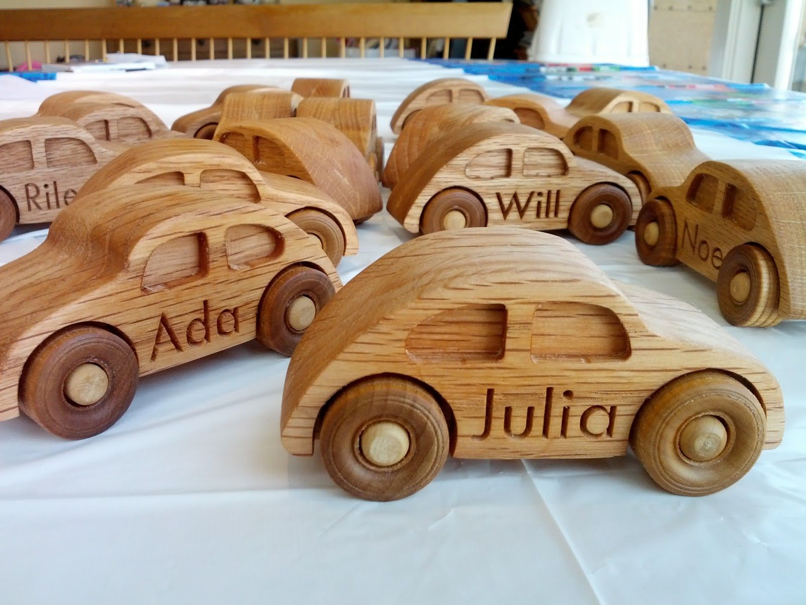 Wooden toys images  Having a daughter who loves everything with wheels Iuve made a fair