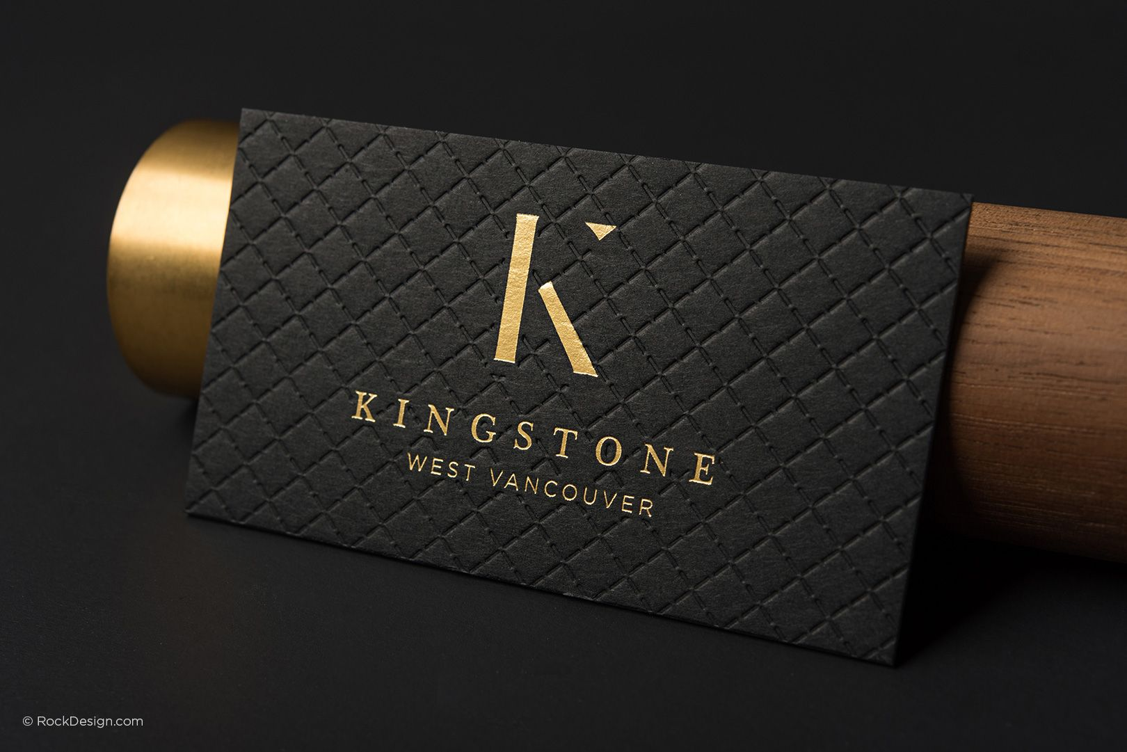 Triplex Business Cards RockDesign Luxury Business Card