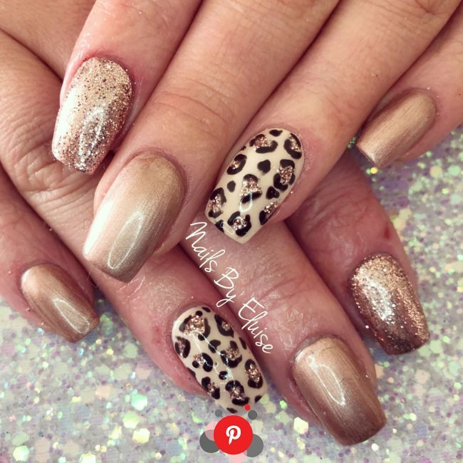 90 Leopard Print Nail Design Beauty Life Tips Nail Summer Design Gel Pretty Bright Leopard In In 2020 Leopard Nails Leopard Print Nails Maroon Acrylic Nails