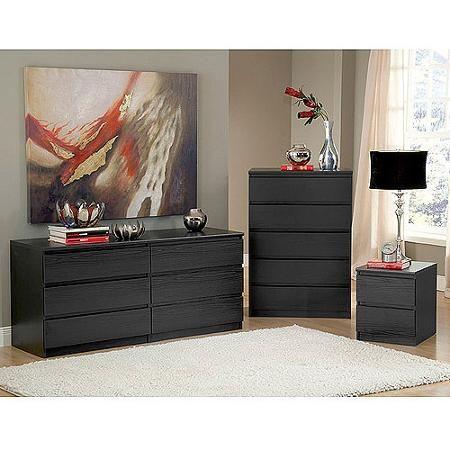 laguna double dresser 5 drawer chest