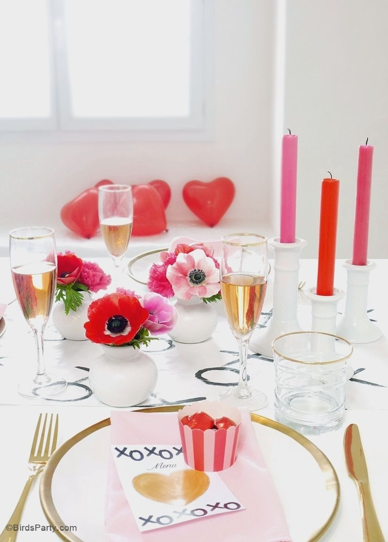 A Modern Valentine S Day Dinner Party Dinners
