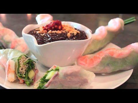 Vietnamese Fresh Spring Rolls - GOI CUON