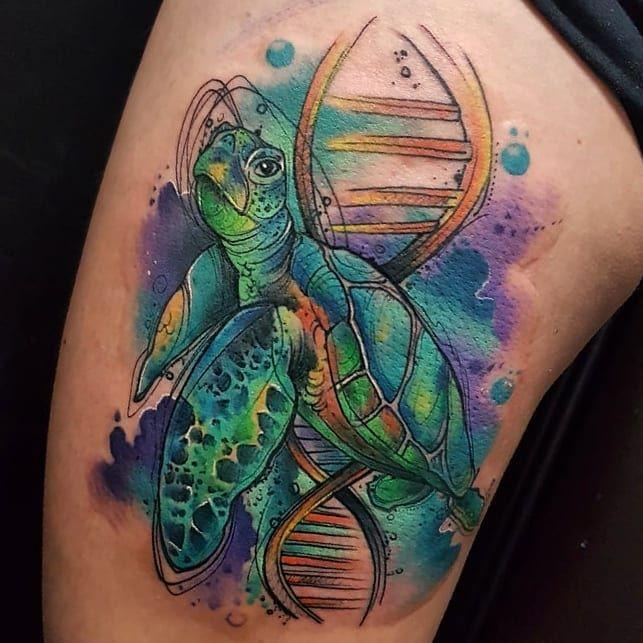 #animals #animal #animallover #animallovers #animalsof #animaladdicts Un proyecto muy interesante!Gracias por confiar..CITAS Y ASESORASINBOX O WHATSAPP 3045951150#domumtattoogallery #eptattoosupply #tattoo #tattooart #tatuajes #tattooink #tatuadorcolombiano #tattooartist #thebestcolombiantattooartists #thebesttattooartist #watercolortattoo #colores #adn #inkedgirl #love #turtle #marine #travel #colombia #medallo #manizales #acuarela #familia #amor #mexico #art #animalseptattoosupply colombia_ink