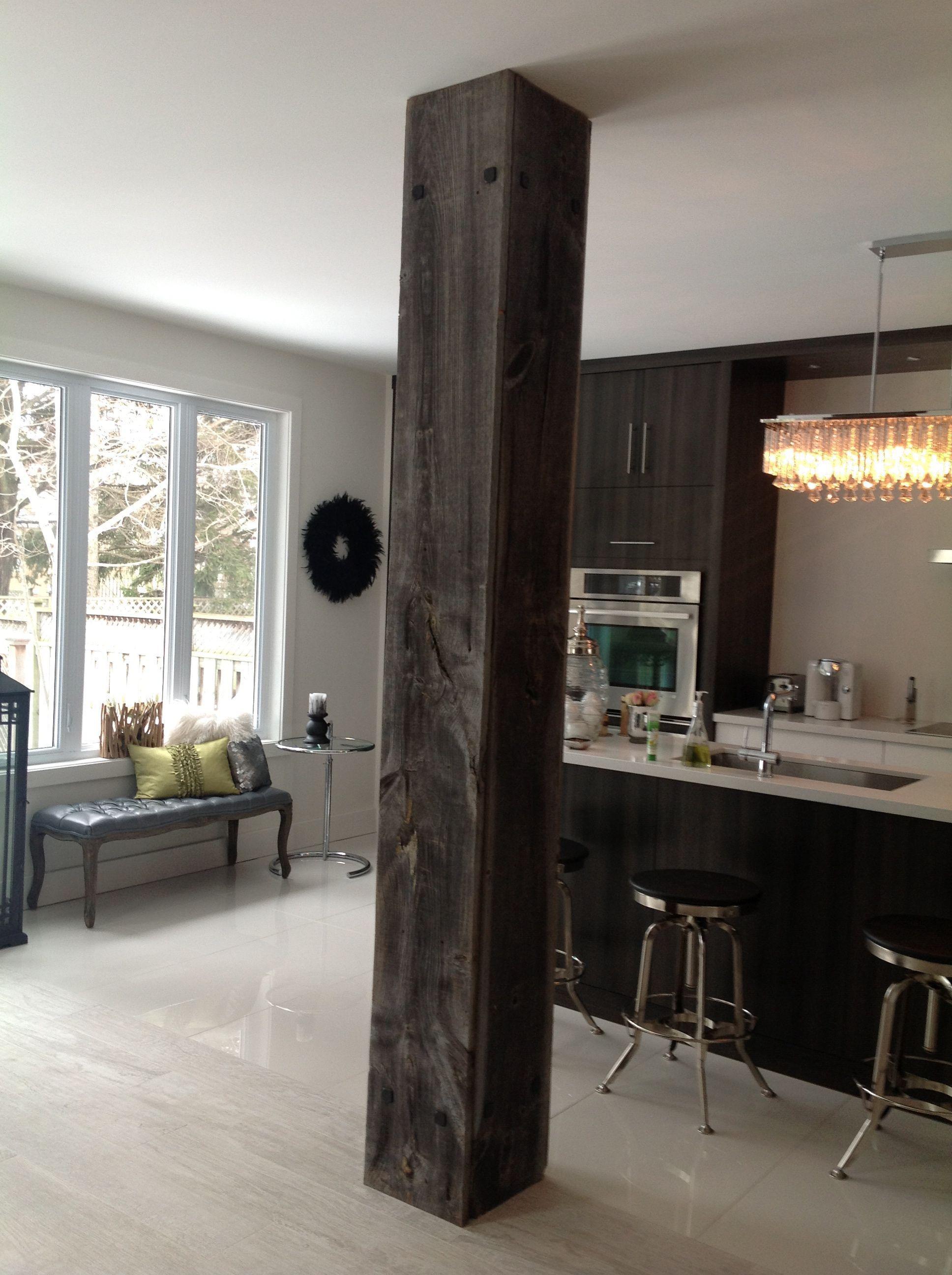 Best Rustic Columns Interior 19 In 2020 Living Room Remodel 400 x 300