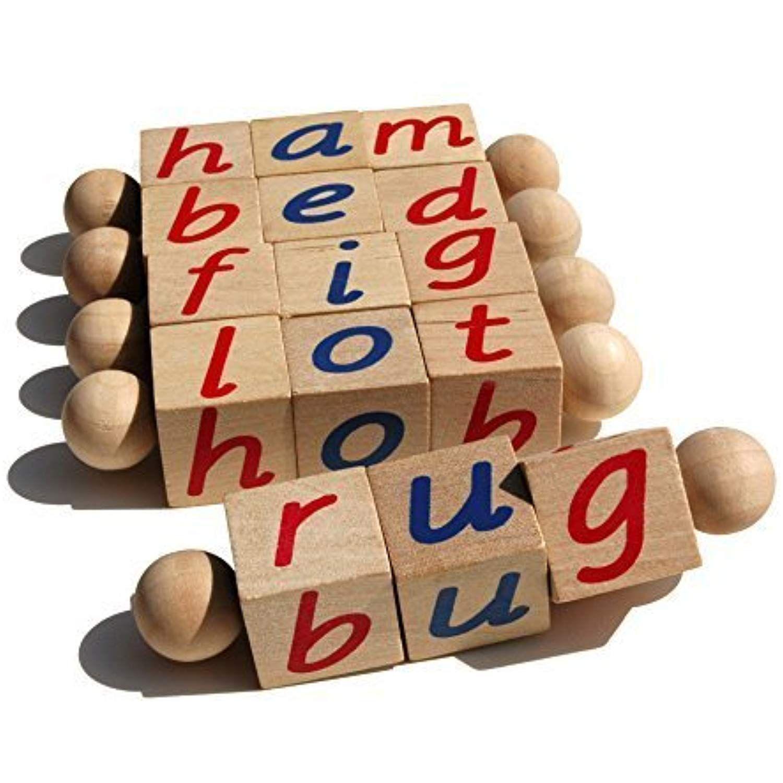 Montessori Phonetic Letter Blocks