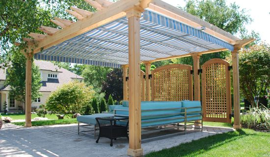 outdoor canopies retractable canopy or awning whats the