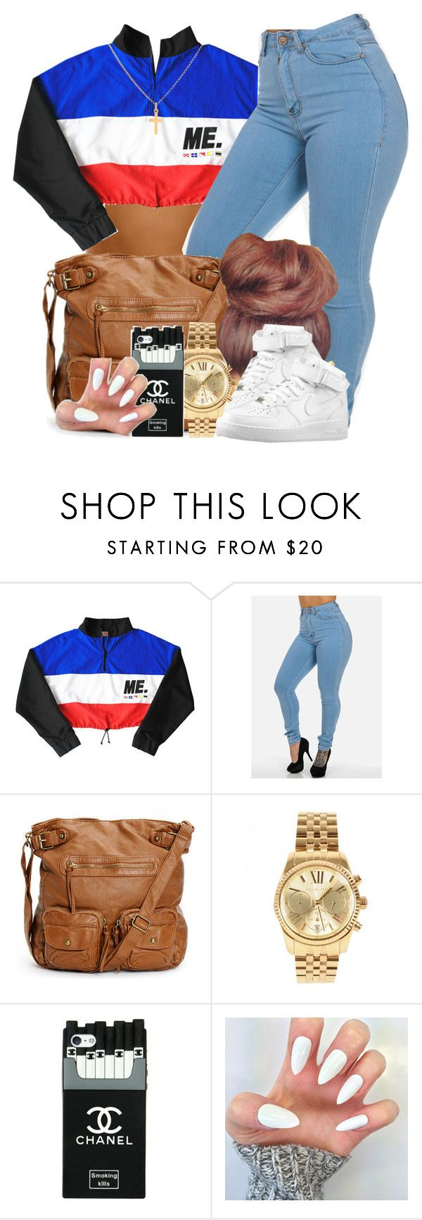"""""""Just Do You"""" by blasianmami16 ❤ liked on Polyvore featuring Michael Kors and Sterling Essentials"""