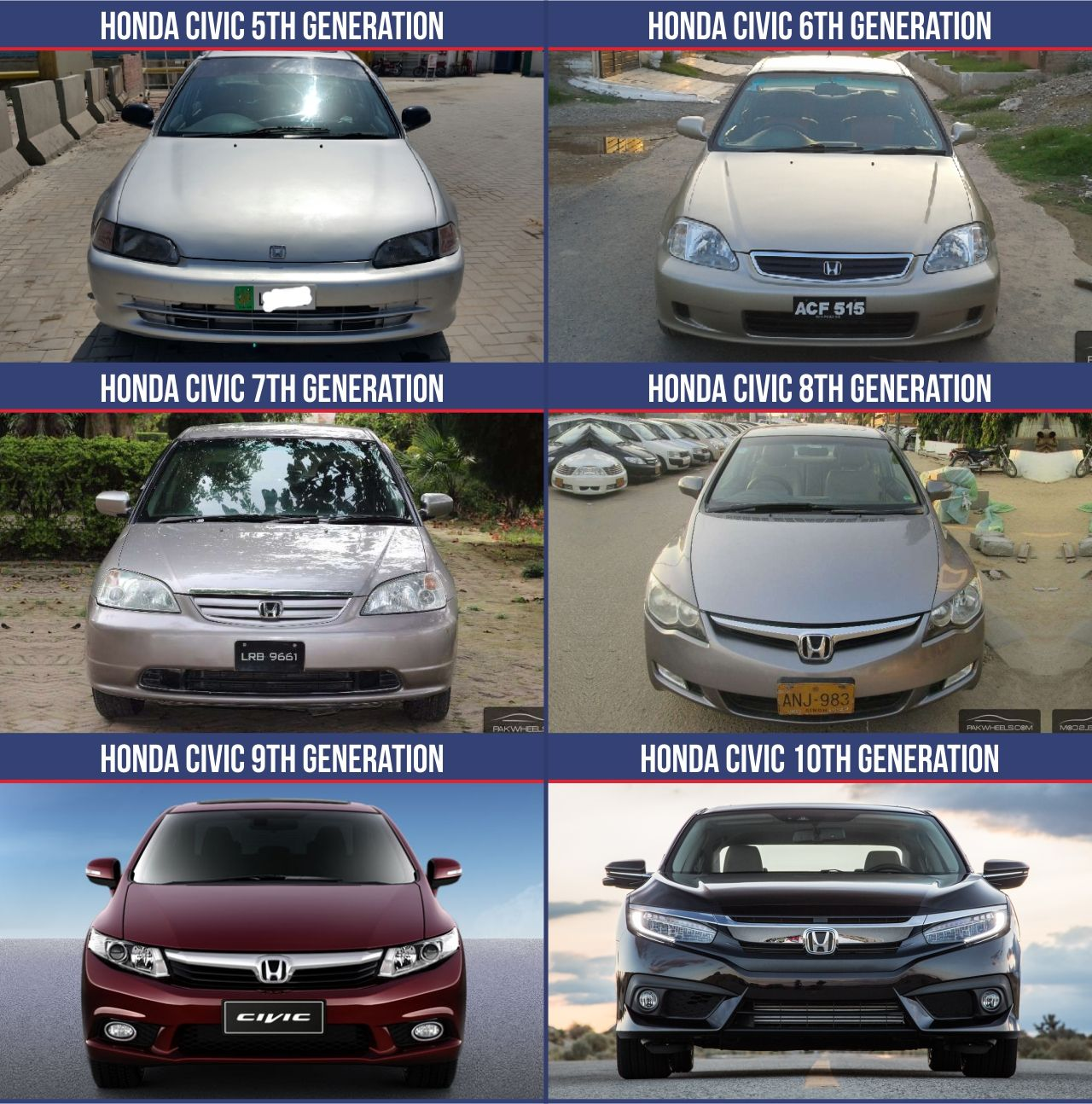 Front Honda Civic Si Stan Evolution