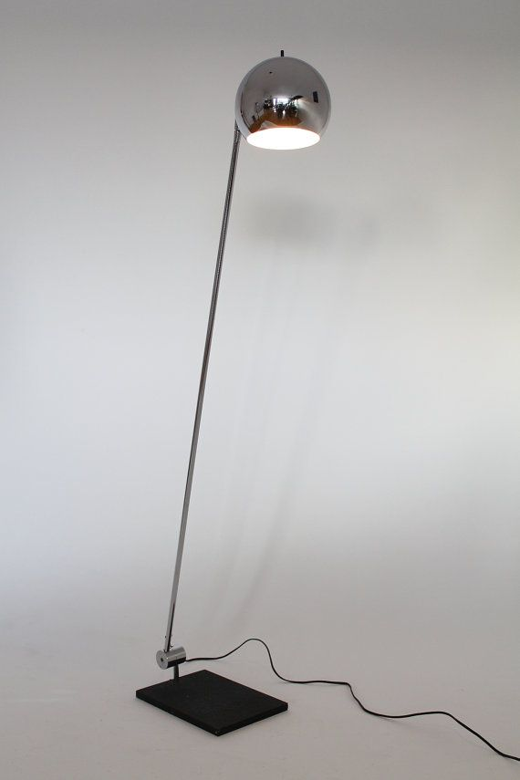SONNEMAN 5 Feet long FLOORLAMP classic iconic mid century vintage retro modern 1960 chrome eyeball : sonneman lighting canada - azcodes.com