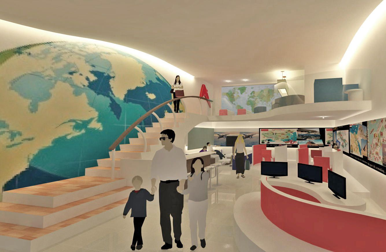 Travel Agency Interior