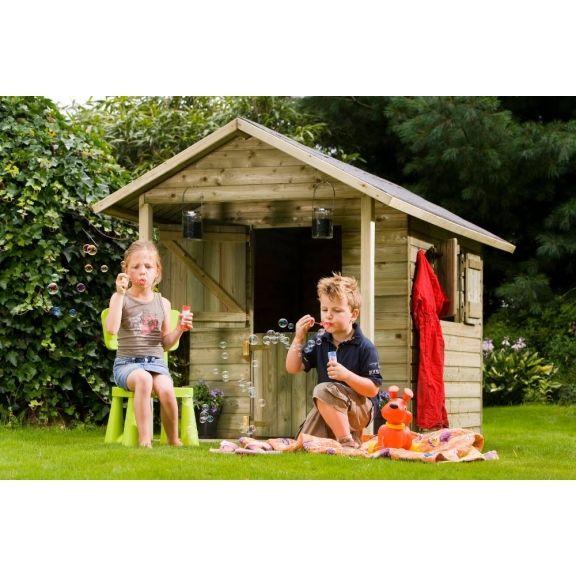 Une petite maisonnette champêtre, qui fera plaisir à vos enfants à coup sûr !